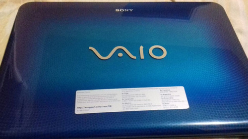 laptop sony vaio 4 ram 500hdd 64bits interl core i3