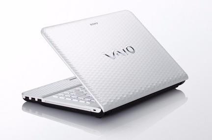laptop sony vaio color blanco