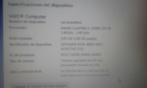 laptop sony vaio vaio