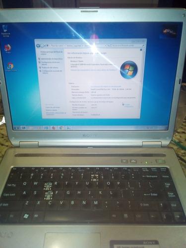 laptop sony vaio vgn-nr-160e 115t