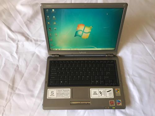 laptop sony vaio vgn s260 usada en perfecto estado