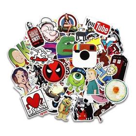 Laptop Stickers 10 Random Set