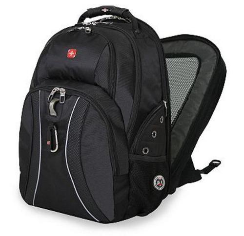 laptop swissgear bakcpack, scan smart, 17 pulg.  original