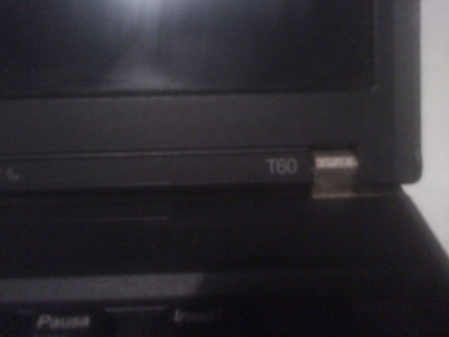 laptop thinkpad t60 (para repuesto)