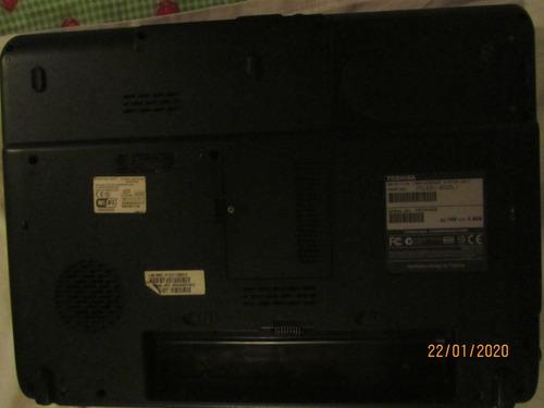 laptop toshiba de 17  para respuesto
