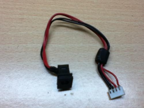 laptop toshiba satellite a135 desarme - conector ac power