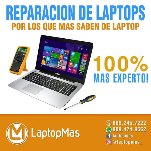 laptopmas - reparacion y piezas de laptop en santo domingo