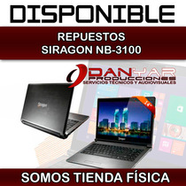 Repuestos Para Laptop Siragon Nb 3100