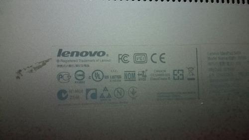 laptops lenovos s400 core  i3 (2365) 4gb de ram 500 gb dd.