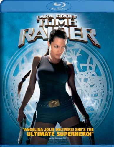 lara croft: tomb raider, con angelina jolie. original