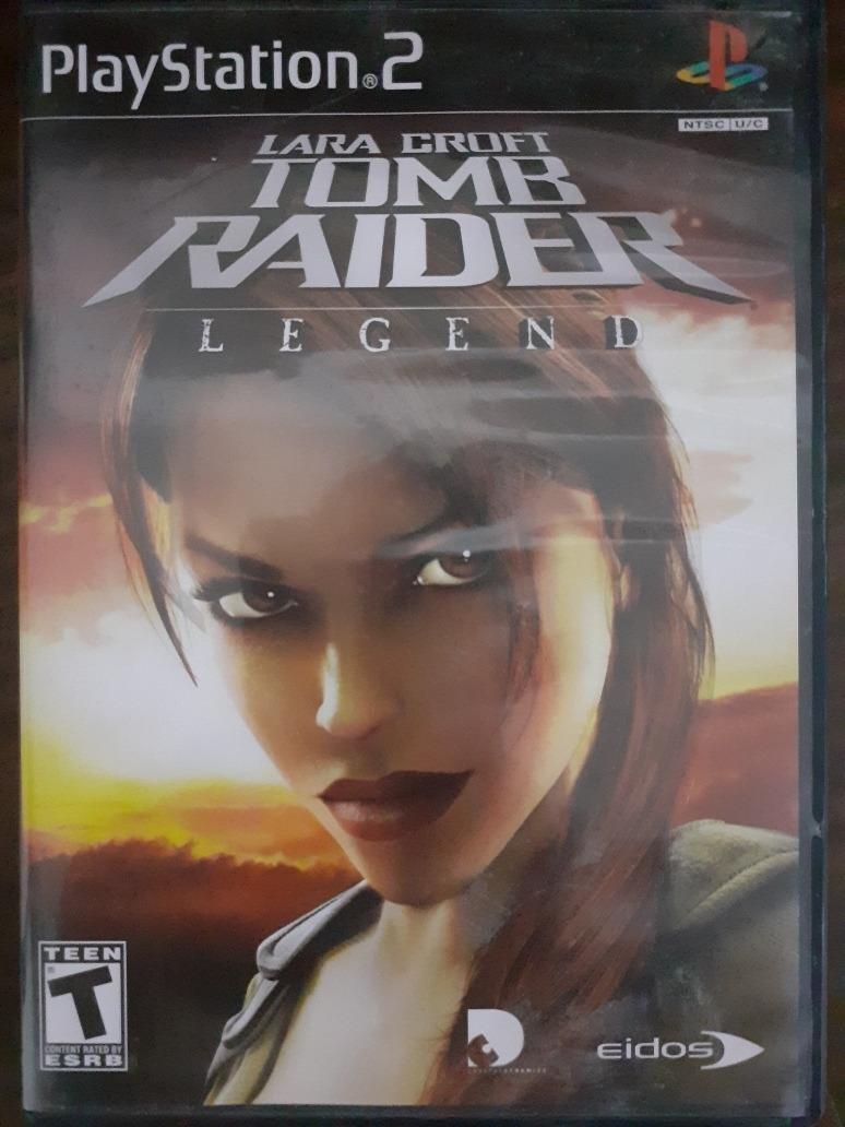 Lara Croft Tomb Raider Legend Ps2 219 00 En Mercado Libre