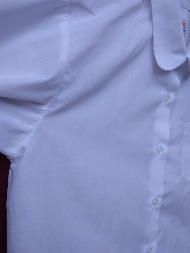 eb32befa1 Cargando zoom... camisa blanca manga larga para niña. camisa talle 16