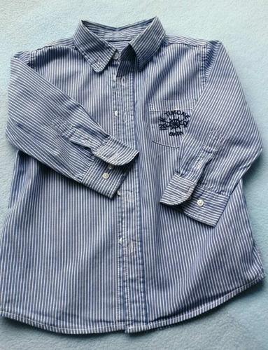 larga niño camisa manga