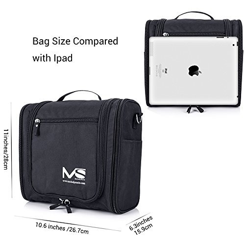 f07ffaa4b84e Large Hanging Travel Toiletry Bag - Melodysusie Heavy Duty ...