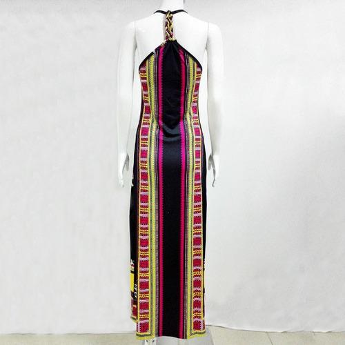 largo casual vestido