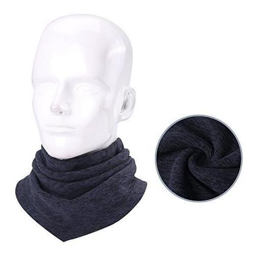 largo cuello calentador gaiter invierno grueso suave elastic