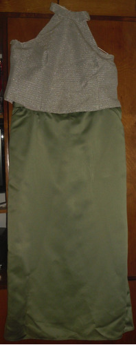 largo, dos vestido