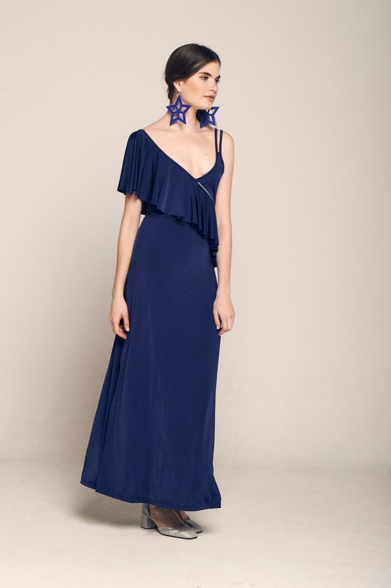 6d51aafb38 Vestido Vestidos Largo Largos Noche Micro Gala Dama Mujer -   1.899 ...