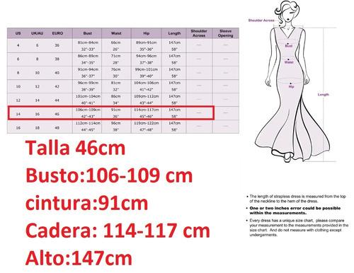 largo mujer vestido