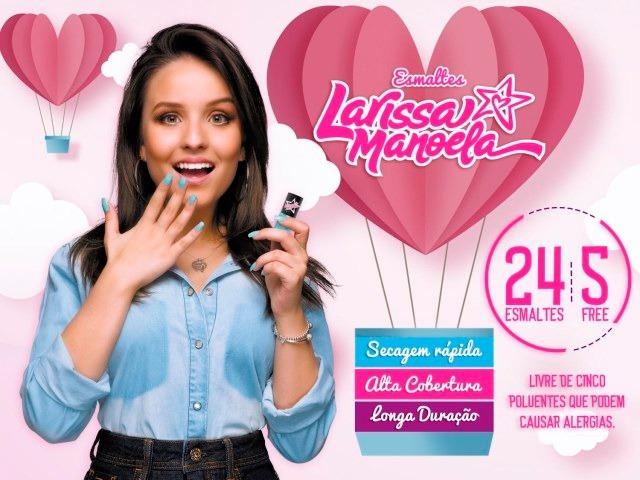 e5938b55e26ba Larissa Manoela Combo  24 Esmaltes 5free - Coleção Completa - R  120 ...