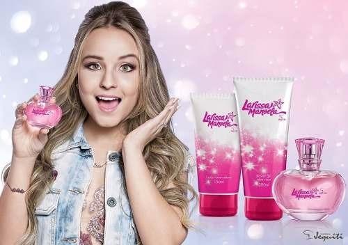Larissa Manoela Kit Perfume Hidratante Gel Jequiti Promoção - R  120 ... 5ad038911a