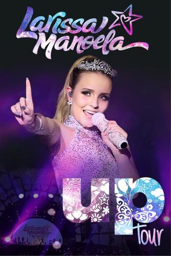 larissa manoela - up tour - dvd