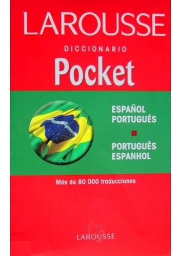 larousse dicc. pocket español portugues portugues espanho
