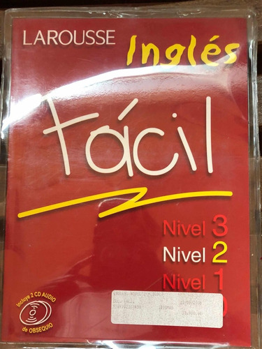 larousse inglés fácil libro 1, 2, 3 y 4 con cd incluido.