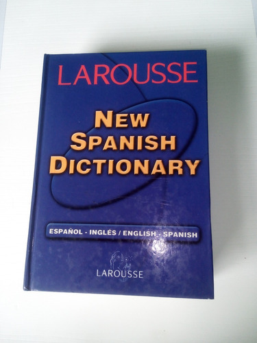 larousse new spanish dictionary usado