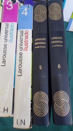 larousse universal ilustrado 6 tomos excelente encuadernacio