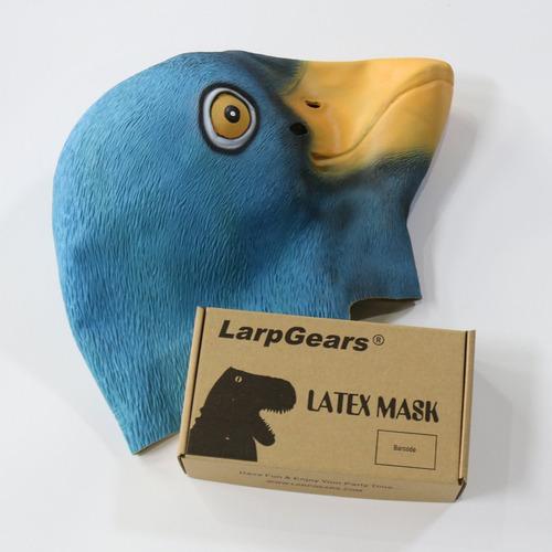 larpgears deluxe novedad pato látex de halloween máscara