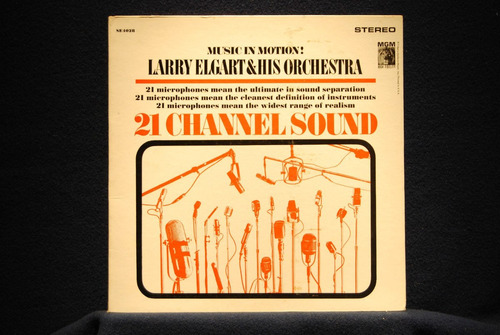 larry elgart - lp 21 channel sound* music in motion (1962)
