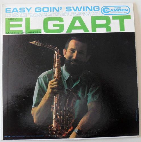 larry elgart - lp easy going swing (1960)  -  import. u s a