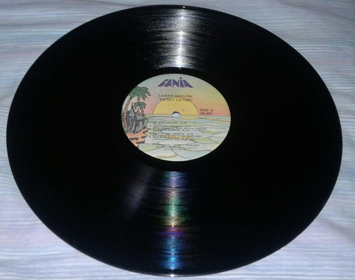 larry harlow/ yo soy latino salsa lp fania usa new york 1982
