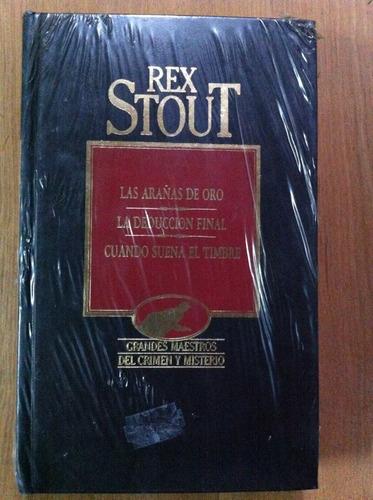 las arañas de oro - rex stout- volumen 16