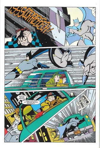 las aventuras de batman #9 - ed kodomo - estilo bruce timm