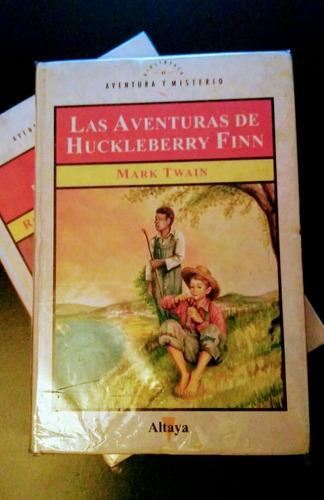 las aventuras de huckleberry finn - mark twain - altaya libr
