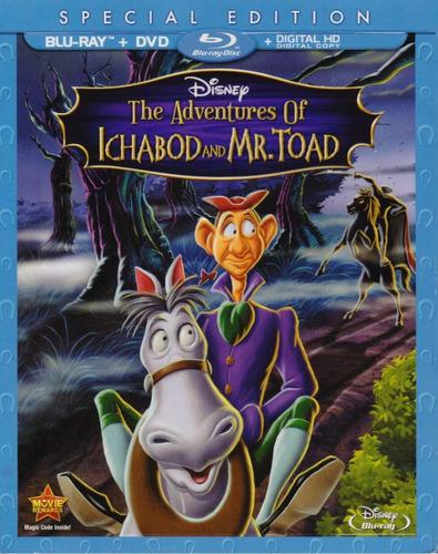 las aventuras de ichabod y mr toad blu-ray + dvd + dig