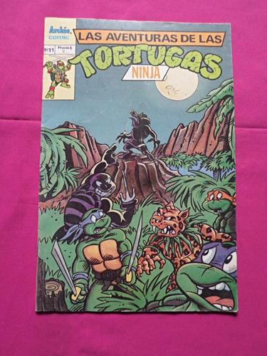 las aventuras de las tortugas ninja n° 11  archie comic