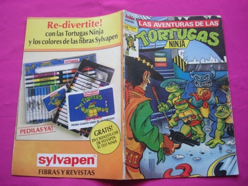las aventuras de las tortugas ninja n° 12  archie comic