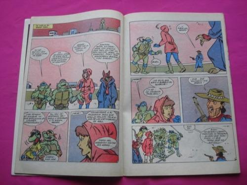 las aventuras de las tortugas ninja n° 15  archie comic