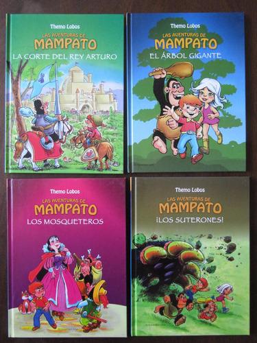 las aventuras de mampato y ogú ,edición tapa dura 28 títulos