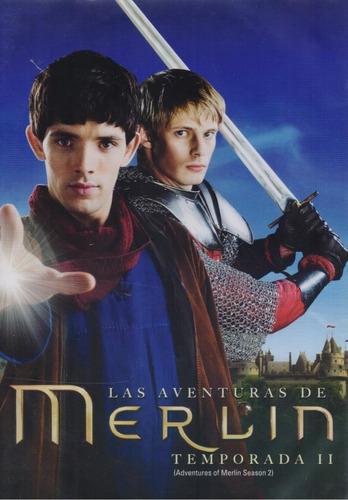 las aventuras de merlin segunda temporada 2 dos dvd