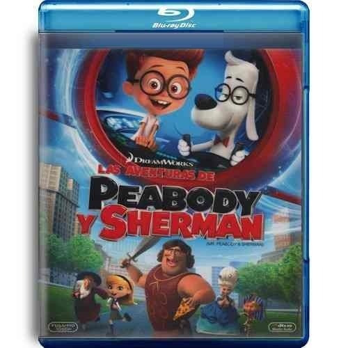 las aventuras de peabody y sherman blu ray  nuevo original