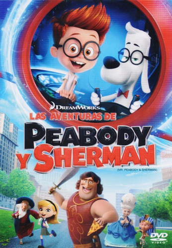 las aventuras de peabody y sherman pelicula dvd