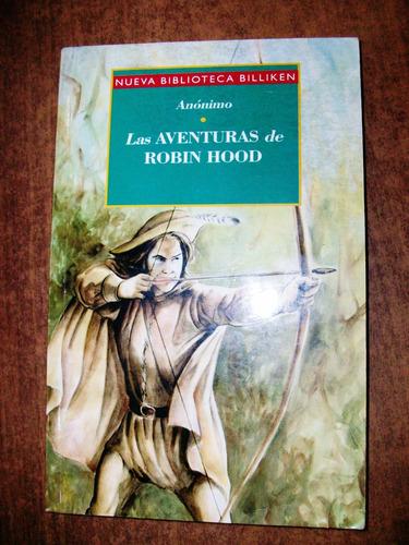las aventuras de robin hood - anónimo - billiken