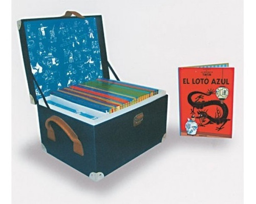 las aventuras de tintin ( edición centenario/cofre 24 tomos)