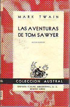 las aventuras de tom sawyer - mark twain (espasa calpe)