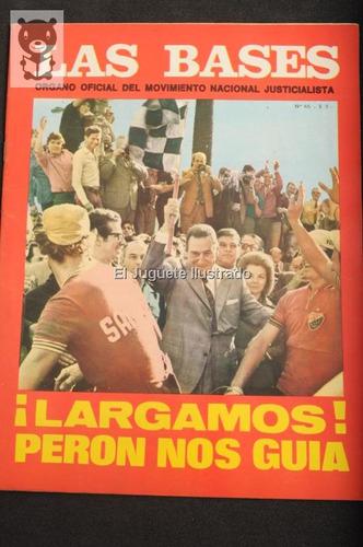 las bases num 65 1973 oficial movimiento peronista