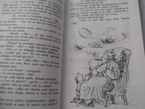 las brujas roald dahl ilustrado autor charlie fabrica chocol